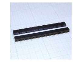 PBD-80 2.54 Розетка 80к.(2х40) на плату