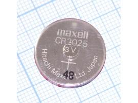 CR2025 Батарея 3V Maxell