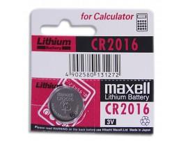 CR2016 Батарея 3V Maxell