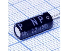 Конд.2,2/50v 0511 NPL +85°C Jam