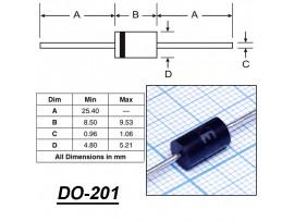 1,5KE300CA PBF диод защитный