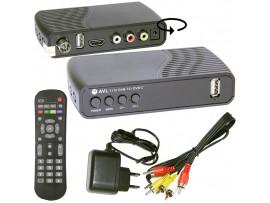 AVL T110 ресивер эфирный+кабельный