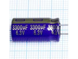 Конд.3300/6,3V 1022 +105°C