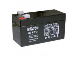 Аккумулятор 12V/1,2Ah GS[L]1.2-12 97х43х52 General Sec