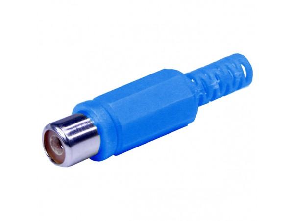 RCA Гнездо на кабель синее
