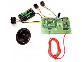 EK-007 радиоприемник. Радиоконструктор - раскраска
