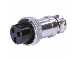 Розетка микр. 3PIN на кабель