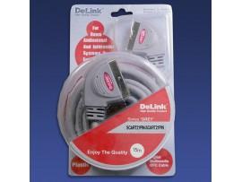 Шнур СК=СК DeLink 15,0м пластик