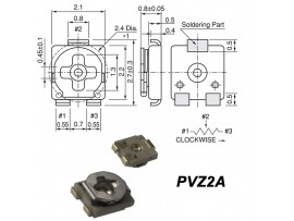 Рез. 10к PVZ2A smd 2.1х2.2
