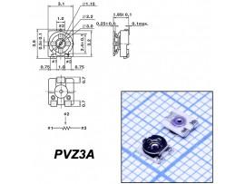 Рез. 50к PVZ3A smd 3.1х3.2 Trim