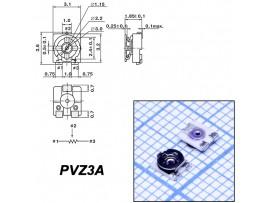 Рез. 200к PVZ3A smd 3.1х3.2 Trim