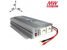 A302-1K7-F3 Преобразователь напр. 24V>~230V/50Гц/1,7kW