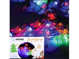 Гирлянда КОС 30LED RGB Новогодний микс1 4,4м