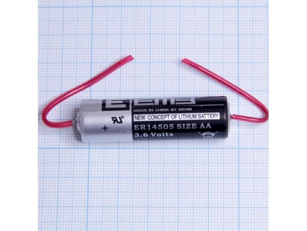 ER14505-AX 3,6V Lithium с выводами EEMB батарея