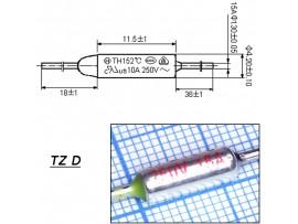 TZ D-216-15A Термопредохранитель