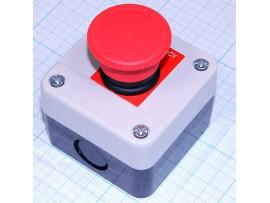 GB2-B174H29 380V/10A on-off красный кнопочный пост