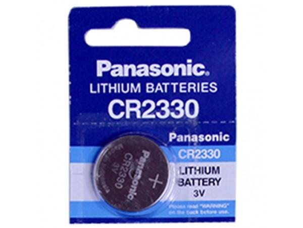 CR2330 Батарея 3V Panasonic (без выводов)
