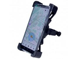 Держатель смартфона мото/вело на руль универсал. H-01