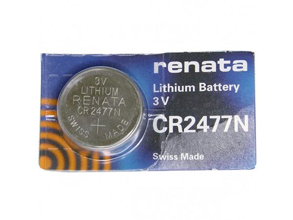 CR2477N RENATA батарея 3V