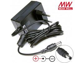 БП 24V0,75A 2,1х5,5мм GST18E24-P1J Блок питания MW