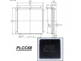 N87C51GB   PLCC68