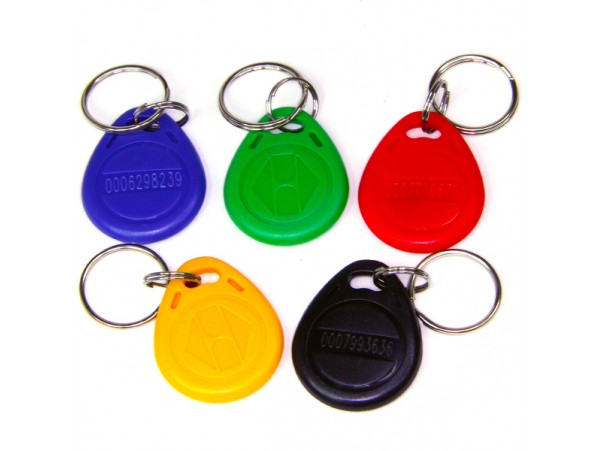 Ключ брелок кода Em Key 005 с нумерацией