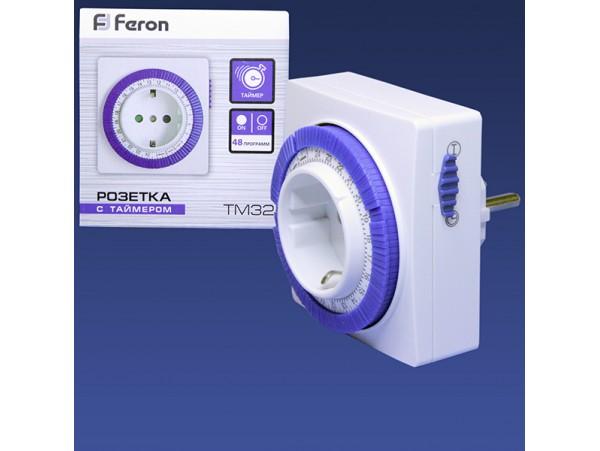 TM32 Feron Таймер суточный