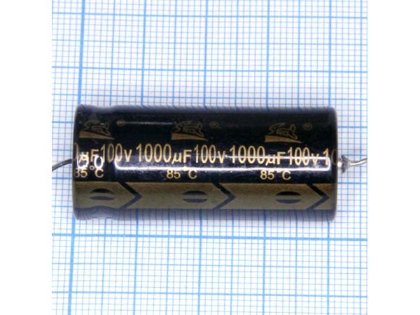 Конд.1000/100V 2040 (аксиал)
