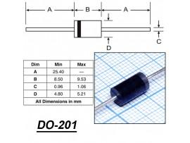 HER307 Диод (3A; 700V)