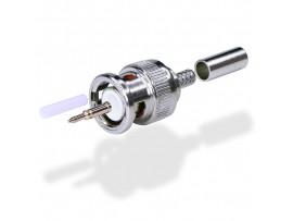 EUG1740U BNC штекер обжимной, для кабеля RG174