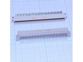DIN 41612R-64M вилка 64к.(2х32) на плату угловая