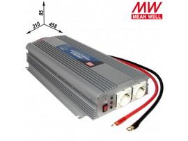 A301-1K7-F3/1500W Преобразователь напр.12V>~230V/50Гц