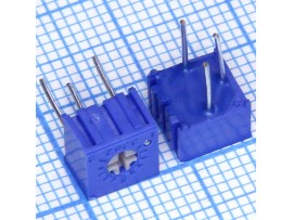Рез. 500 Ом Trim PVC6A (СП3-19А)(3362P)