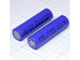 Аккумулятор 3,7V/2200 LIR18650 (d=18;L=65) EEMB