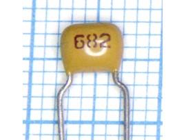 Конд.NPO 6800пф 5%керам.имп.