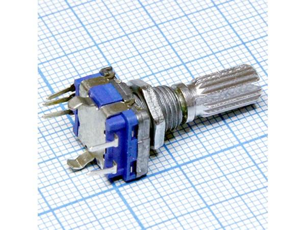 Энкодер R182 металл ручка зубч. L=20 мм