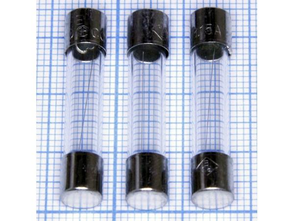 Пред.3,15А(d=6;L=30) F стекло