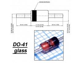 1N4728A (Стабил. 3,3V/1W) стекло