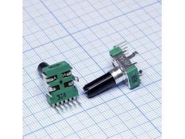 Рез. 2х50к на плату RV112BCF-40-25A-A50K вал 18мм