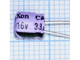 Конд.33/16V 0505 +105°C