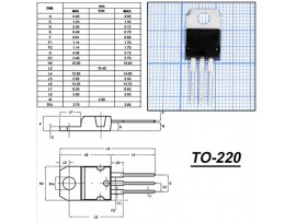 BTB16-600B/W Тиристор