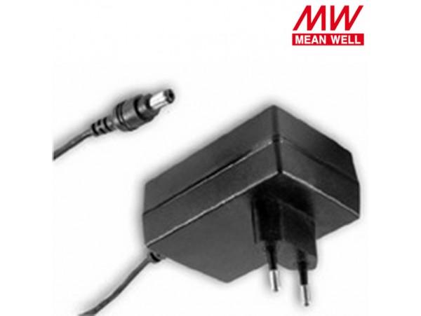Блок питания 12V(1,67A) 2,1х5,5мм ES25E15-P1J MW