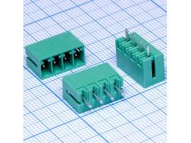 ECH350V-04 клеммник 4к шаг 3,5мм