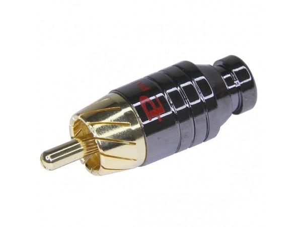 RCA Вилка BLACK RPC-3GT на кабель