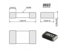 B82496-C 2.2 нГн Дросс.(0603)