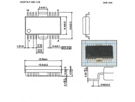 TA7291F  HSOP16