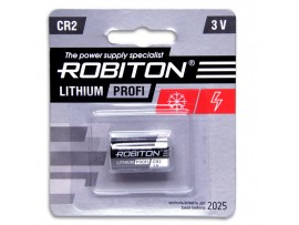 CR2 Батарея 3V Lithium (d=15;L=27) Robiton
