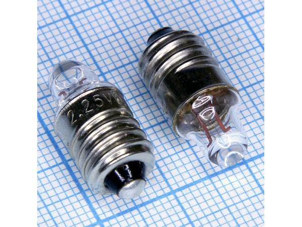 Лампа2,25V/0.25A линза (брелок)