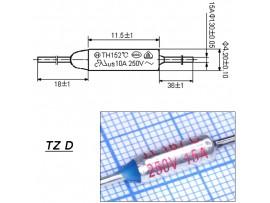 TZ D-167-15A Термопредохранитель