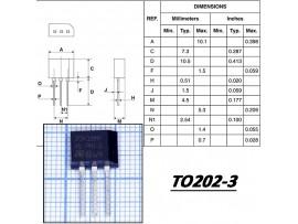 Z0410MF Тирист. 600V; 4A